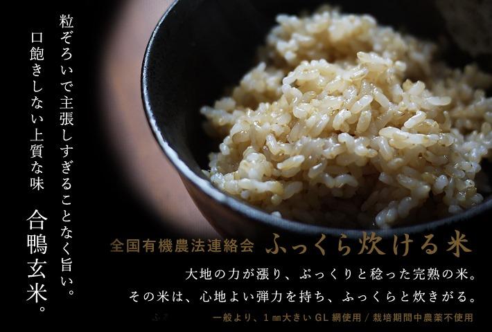 ふっくら炊ける玄米