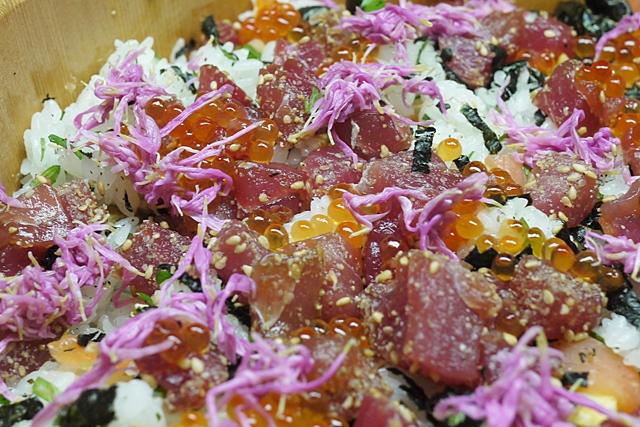山形のもってのほかのレシピちらし寿司